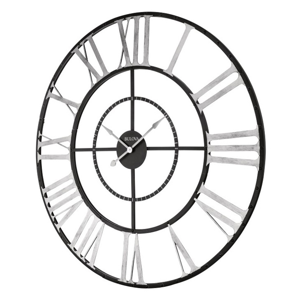 Zeeland Oversize 60 Quot Wall Clock Bulova C4877