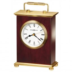 Howard Miller Rosewood Bracket Tabletop Clock 613528
