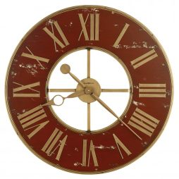 Howard Miller Boris Wrought Iron Wall Clock 625649