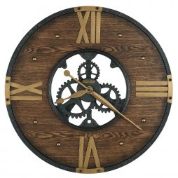 "Howard Miller Murano Wrought Iron 24"" Wall Clock 625650"