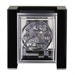 Howard Miller Park Avenue Gloss Black Mantel Clock 630270