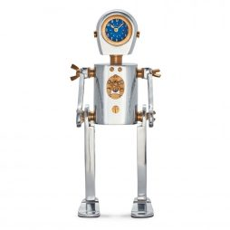 Pendulux Karl Robot Table Clock TCKARAL