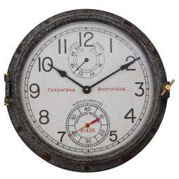 Quartermaster Wall Clock Aluminum - Pendulux WCPETWE