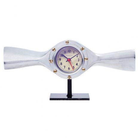 Pendulux Spinner Propeller Table Clock TCSPIAL