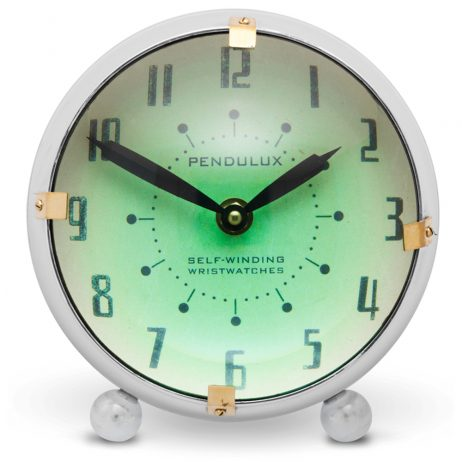 Orbit Retro Table Clock - Pendulux TCORBAL