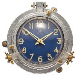 Quartermaster Wall Clock Blue - Pendulux WCQTMBL