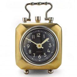 Pendulux Annette Brass Table Clock TCANNBR