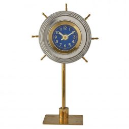 Pendulux Skipper Nautical Table Clock TCSKIAL
