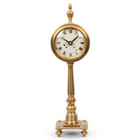 Pendulux Victoria Brass Table Clock TCVICBR