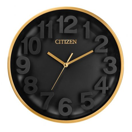 Citizen Gallery Black Wall Clock CC2025