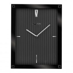 Citizen Black Rectangular Gallery Wall Clock CC2027