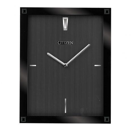 Citizen Black Rectangular Gallery Wall Clock CC2027