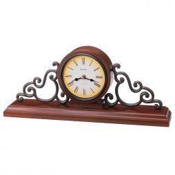 Bulova Strathburn Decorative Chiming Mantel Clock B1910