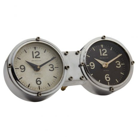 Pendulux Dual Time Zone Table/Wall Clock TCDASNK