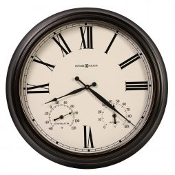 Aspen Outdoor Wall Clock Howard Miller 625677