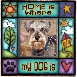 Home is Where my Dog is Picture Frame - Macone Creek SAF20