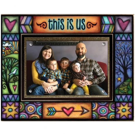 This is Us Picture Frame - Macone Clay WAF72