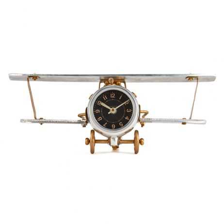 Pendulux Biplane Table Clock - TCBIPAL