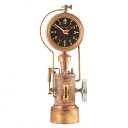 Pendulux Mr. Steampunk Table Clock TCMSTBR