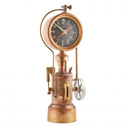 Pendulux Mr. Steampunk Table Clock TCMSTBR