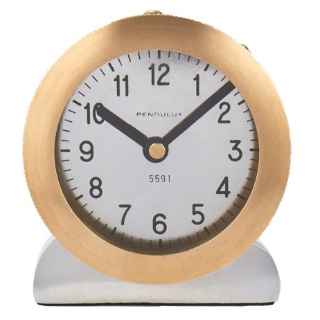 Pendulux Royce Table Clock TCROYBR