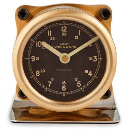 Pendulux Sherman Table Clock - TCSHEBR
