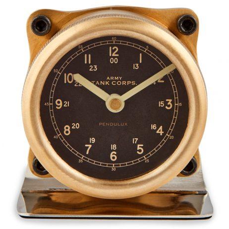 Pendulux Sherman Table Clock - TCSHEBR