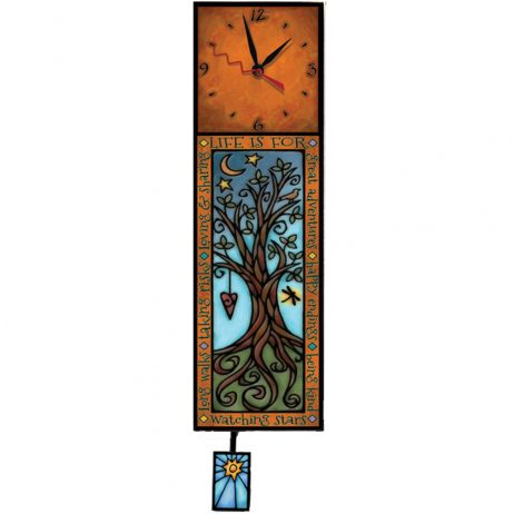 Life is for Wall Clock - Macone-Clay WAC294