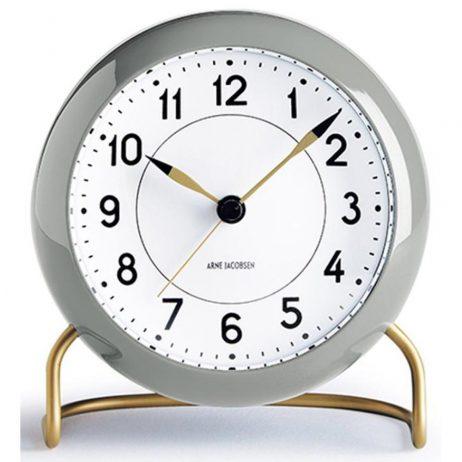 Arne Jacobsen - Station Alarm Clock - Gray RD-43674