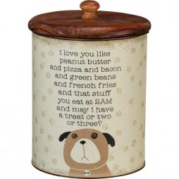 Dog Treat Jar 101702