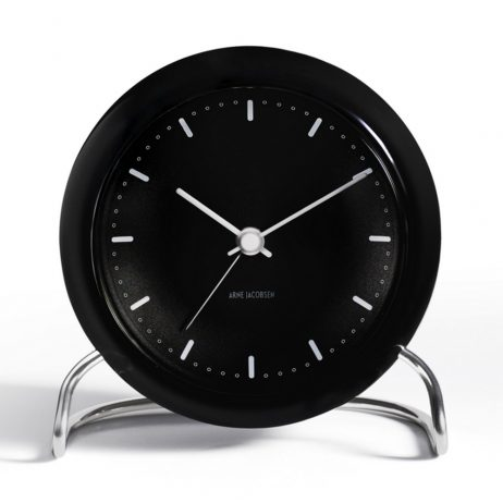 Arne Jacobsen - City Hall Alarm Clock - Black RD-43673