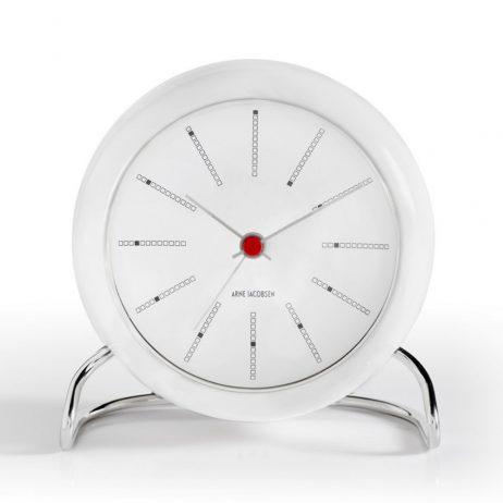 Arne Jacobsen - Banker's Alarm Clock - White RD-43675