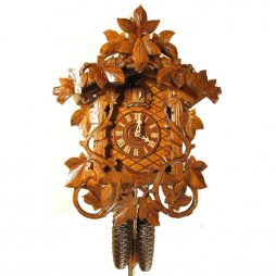Rombach und Haas Cuckoo Clock with Leaves and Vines - 8-Day Movement 8225