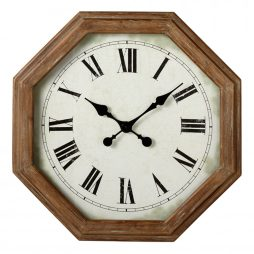 Hexagon Frame Wall Clock - Midwest CBK 164327