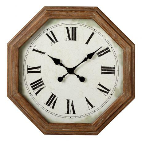 Hexagon Frame Wall Clock - Midwest CBK 164327