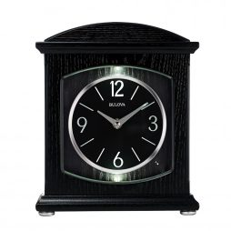 Glendale Mantel Clock with Bluetooth Speaker - Bulova B6220