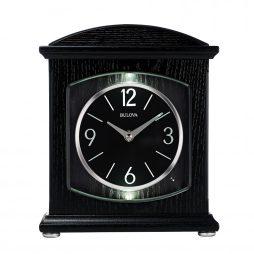 Glendale Mantel Clock with Bluetooth Speaker - Bulova B6220