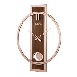Bulova Phoenix Decorative Wall Clock C4117