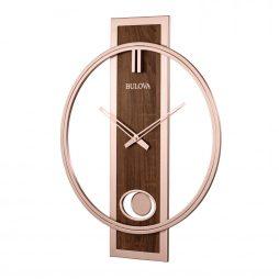 Bulova Phoenix Decorative Wall Clock C4117