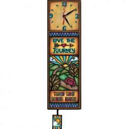 Love the Journey Decorative Wall Clock WAC295