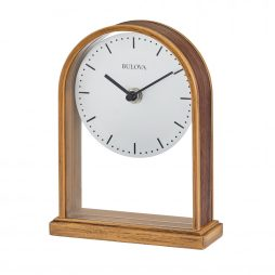 Bulova The Enfield Contemporary Table Clock B1713
